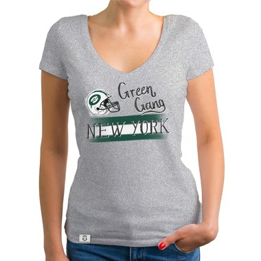 green gang ny damen t shirt v ausschnitt. Black Bedroom Furniture Sets. Home Design Ideas