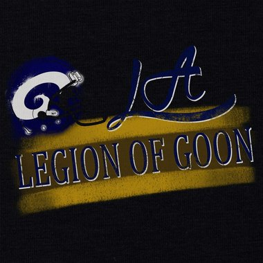 Damen Long Hoodie - LA - Legion of Goon