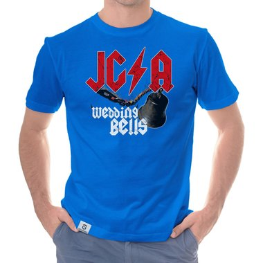 Herren JGA T-Shirt - Wedding Bells