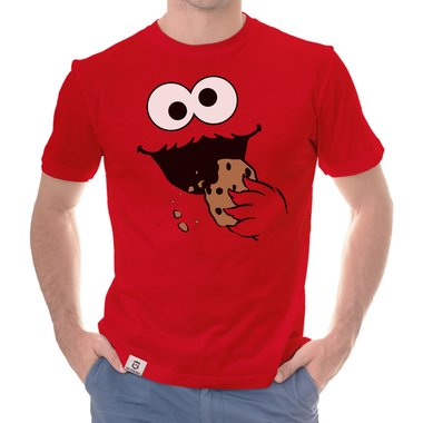 Herren T-Shirt - Keks Monster
