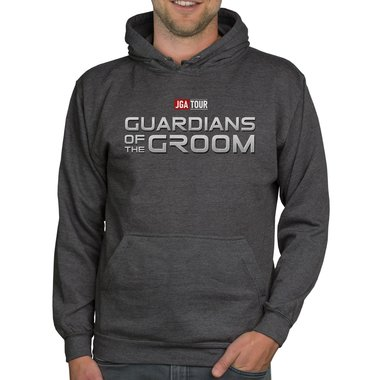 Herren JGA Hoodie - Guardians of the Groom