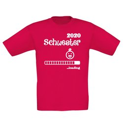 Kinder T-Shirt - Schwester 2020 loading