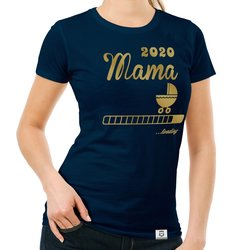 Damen T-Shirt - Mama 2020 loading