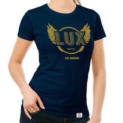 Damen T-Shirt - Lux Nightclub - LA