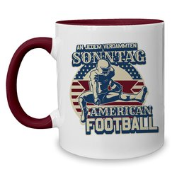 Kaffeebecher Kollektion - Tasse - American Football...