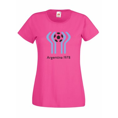 Damen T-Shirt Argentinien WM78