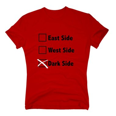 T-Shirt East Side - West Side - Dark Side