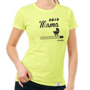 Damen T-Shirt - Mama 2019 loading
