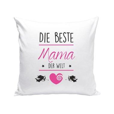 dekokissen muttertag die beste mama der welt. Black Bedroom Furniture Sets. Home Design Ideas