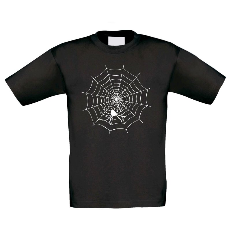 t shirt kinder halloween spinne im netz. Black Bedroom Furniture Sets. Home Design Ideas
