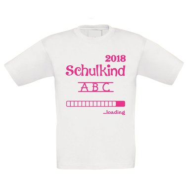 Kinder T-Shirt - Schulkind Loading 2018
