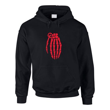 Hoodie Breaking Bad Skelett Granate - Skeleton Grenade