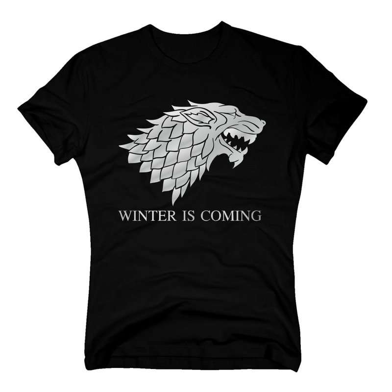 game of thrones t shirt herren dire wolf. Black Bedroom Furniture Sets. Home Design Ideas