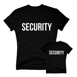 Security T-Shirt - SECURITY - Sicherheitsdienst