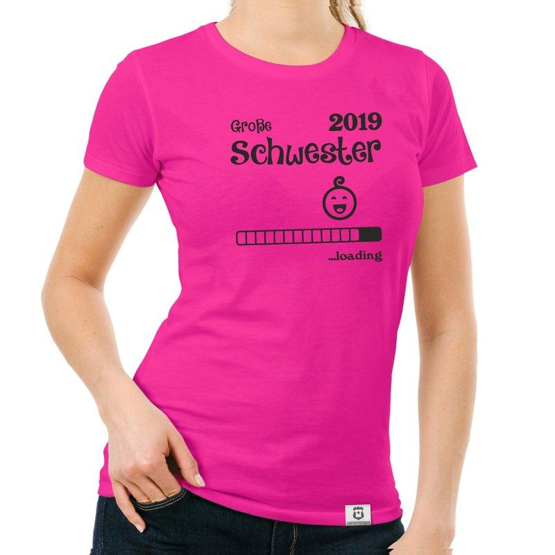 gro e schwester 2019 loading damen t shirt