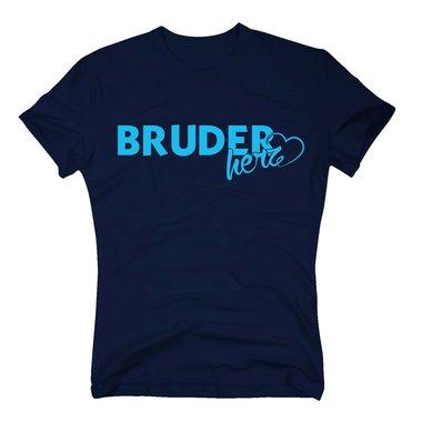Geschwister T Shirt Herren Bruderherz Von Shirt Department