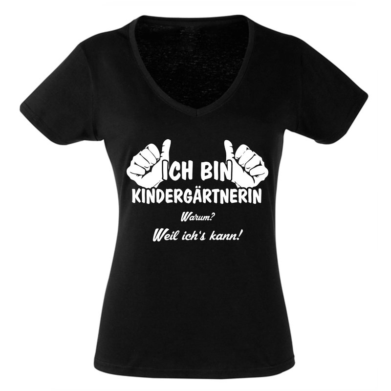 geschenk f r erzieherin damen t shirt kinderg rtnerin. Black Bedroom Furniture Sets. Home Design Ideas