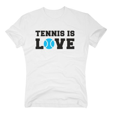 new concept d463d 19c45 Tennis T-Shirt Herren - Tennis is Love