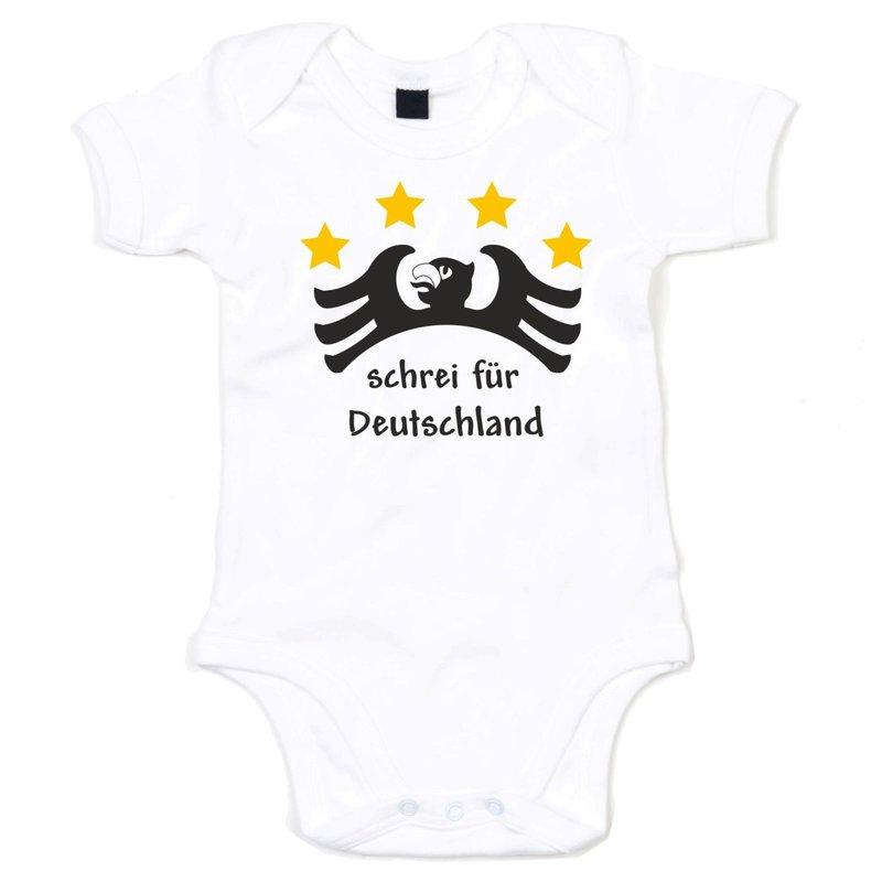 lustiger baby body schrei f r deutschland. Black Bedroom Furniture Sets. Home Design Ideas