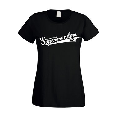 Damen T-Shirt - The one true Supergrandma