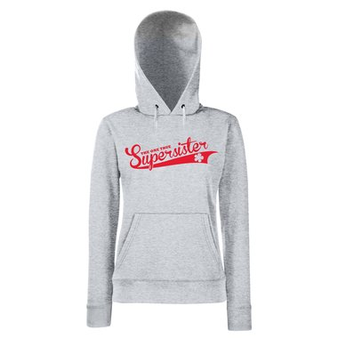 Damen Hoodie - The one true Supersister