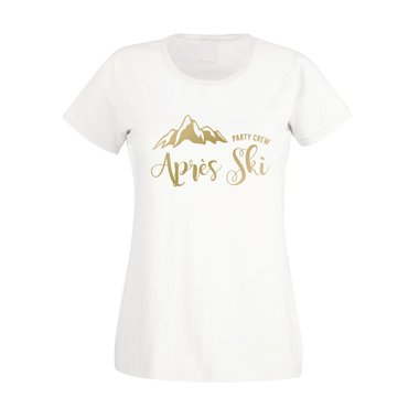 Damen T-Shirt - Apres Ski - Party Crew