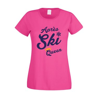 Damen T-Shirt - Apres Ski Queen