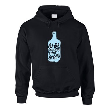 Herren Hoodie - Let the Christmas time be-GIN