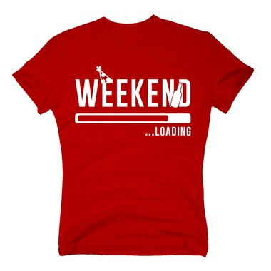 Herren T-Shirt - Weekend loading