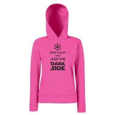 Damen Hoodie - Keep Calm and Join the Dark Side