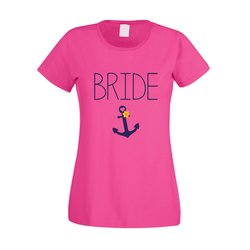 JGA T-Shirt Damen - Bride Anchor
