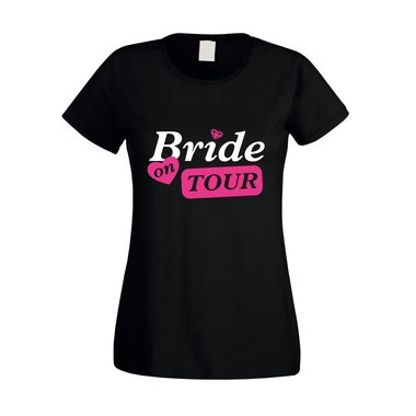 JGA Damen T-Shirt - Bride on Tour