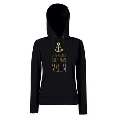 Damen Hoodie - In Hamburch sagt man Moin