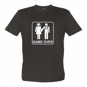 Game Over T-Shirt Junggesellenabschied JGA Heirat