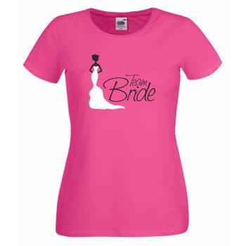 Team Bride Shirt Damen Junggesellinnenabschied TEAM BRIDE