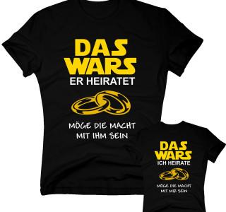 Das Wars Shirt Herren - Junggesellenabschied