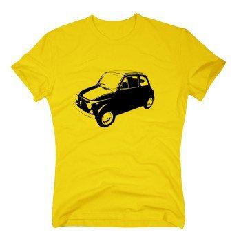 Fiat 500 - Herren T-Shirt - gelb
