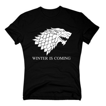 Game of Thrones Shirt - Herren T-Shirt - Winter is Coming Stark schwarz
