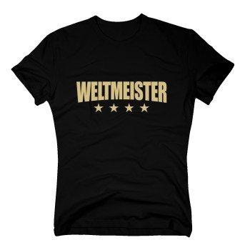 Weltmeister - Herren T-Shirt - schwarz