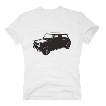 Mini Cooper - Herren T-Shirt - weiß