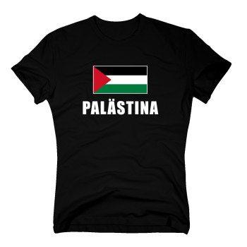 Palästina - Herren T-Shirt - schwarz