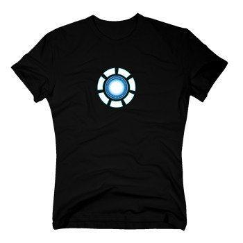 Tony Stark Arcreaktor - Herren T-Shirt - schwarz