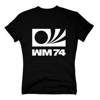 WM 74 - Herren T-Shirt - schwarz