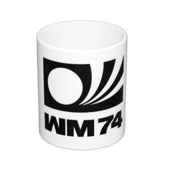 WM 74 - Kaffeebcher - weiß
