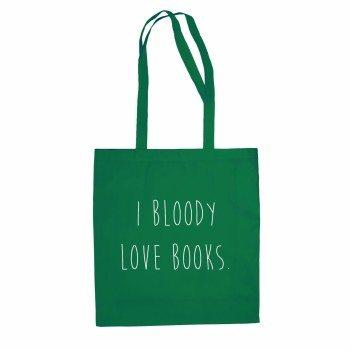 Baumwolltasche Jutebeutel I Bloody Love Books