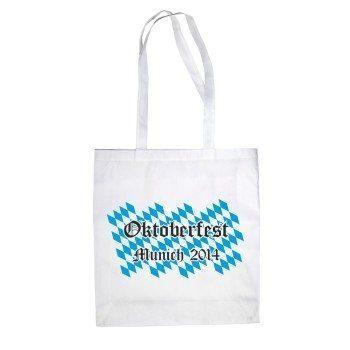 Oktoberfest Munich 2014 - Jutebeutel - weiß