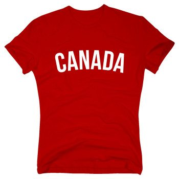 Canada - Herren T-Shirt - rot