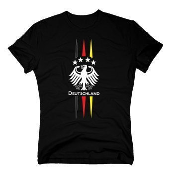 DEUTSCHLAND Shirt Herren - EM 2016 - Adler - Fußball WM Fan Trikot Germany