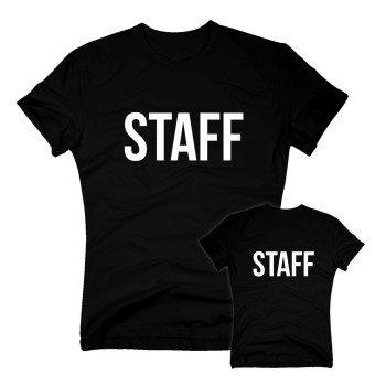 Staff - Herren T-Shirt - schwarz