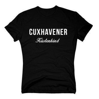 Cuxhavener Küstenkind - Herren T-Shirt - schwarz